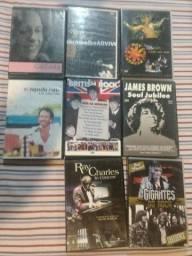 Vendo 8 DVDs  Musicais  40,00
