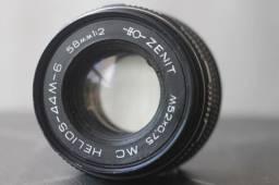 Diversas Lentes Helios 58mm f2 Zenit MC 44m-4, 44m6, 44m7 - valor individual