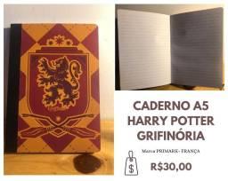 Caderno Grifinória - Harry Potter