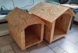 Casinha pet para cães N° 02 em compensado OSB