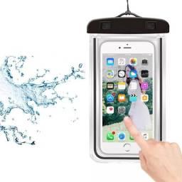 Saco a prova d'agua para smartphone