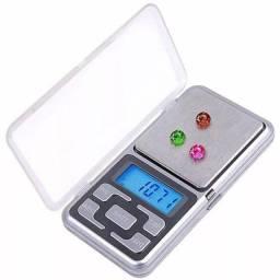 Mini Balança Digital de Bolso Portátil (até 500 gr)