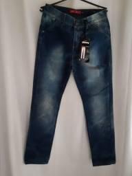 Calça jeans ?menina tam 12 a 14 anos