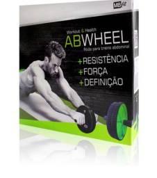 Título do anúncio: Roda Exercícios Treino Abdominal Academia Fitness Mbfit