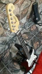 Guitarra e pedaleira