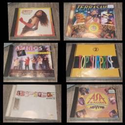 6 CDs originais ( perfeitos )...por R$ 30,00