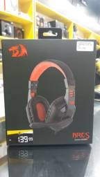 Headset Redragon Solid Ares H120 LED - PC