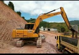 Escavadeira Sany Sy 135