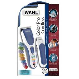 Combo Wahl Máquina de Corte e Aparador Color Pro Cordless Bivolt