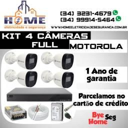Título do anúncio: Câmeras de Segurança Motorola Full *