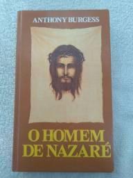 Livro O Homem De Nazaré Anthony Burgess Capa Dura Quase Novo