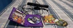 Kinect e jogos.