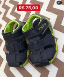 Sapato tigor infantil