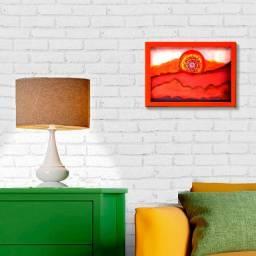 """Quadro novo """"Pôr-do-sol"""" pintura artística,"""