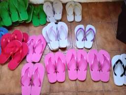 fabricação de chinelos