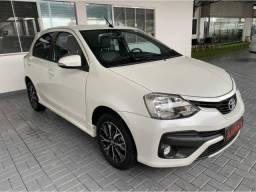 Apenas 37mil km Automático Toyota Etios 1.5 Platinum 2017