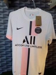 Título do anúncio: Camisa PSG versão jogador 21/22-Nike- tamanho G