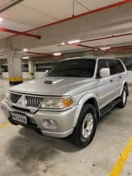 Pajero Sport ano 2004 diesel 4x4 carro extra