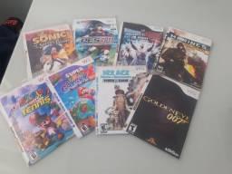 8 jogos do Nintendo Wii