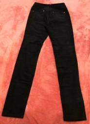 Calça jeans de veludo