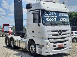 MB Actros 2651 Cav 6x4 2018 Leito TA Completo megaspace Aut Selectrucks