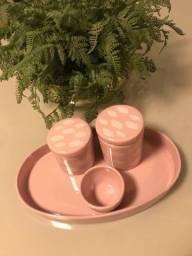 Título do anúncio: Kit higiene em porcelana
