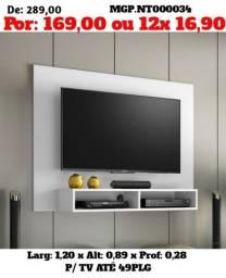 Painel de televisão até 49 Plg- Painel de TV- Sala de Estar-Promoção Curitba
