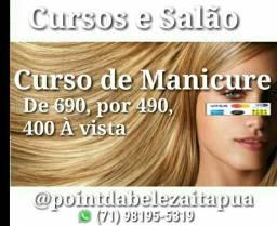 Curso de Manicure   350,