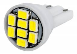 Título do anúncio: Lâmpada Led Meia Luz T10 8 leds Unidade