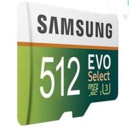 Cartão memória 512 gb Samsung