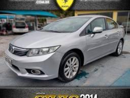 Título do anúncio: Honda civic 2014 2.0 lxr 16v flex 4p automÁtico