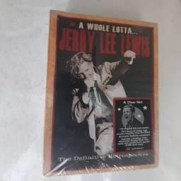 Título do anúncio: Cd box 4xCds  Jerry Lee Lewis