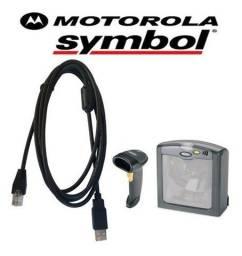 Título do anúncio: Cabo Usb Leitor Symbol Ls2208 Ls7708 Motorola (mais Modelos)