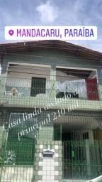 Casa pra vender em Mandacarú 210 mil
