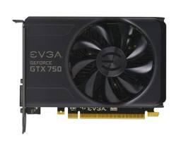 Placa de video evga Geforce GTX 750 1GB ddr5 128-BIT