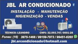 Ar condicionado (leandro) * Instalação, higienização e manutenção!