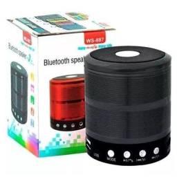 Mini Caixinha de Som Bluetooth Portátil e Usb