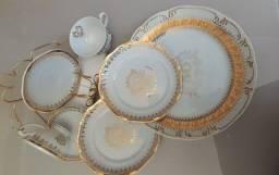 Porcelana Antiga Bodas de Ouro