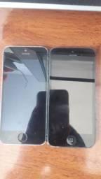 2 iphone 5s para peça