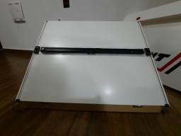 Prancheta portátil desenho A2 Trident com régua paralela