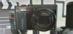Câmera Panasonic TZ-90 com 3 baterias 4K