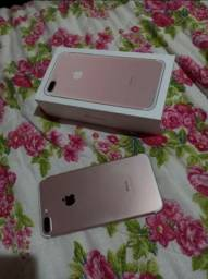 Celular, iphone 7plus rose 128gb