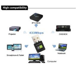 Aumento Recepção Rede Wifi Wireless 5.0 Ghz Notebook