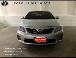 Corolla GLI 1.8 Automático 2012