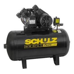 Compressor Schulz de ar 100 litros CSV10/100 220V