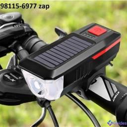 Farol De Bicicleta Solar Luz