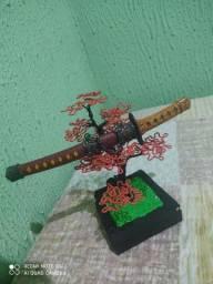 Katana StainLess original + Bonsai artesanal