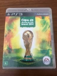 Jogo ps3 copa do mundo da fifa Brasil 2014 original