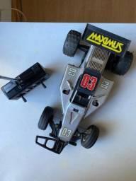 Título do anúncio: Carrinho controle remoto Maximus anos 90