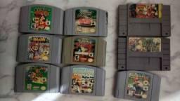 Jogos N64 e SNES